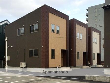富山県富山市、上本町駅徒歩5分の新築 2階建の賃貸テラスハウス