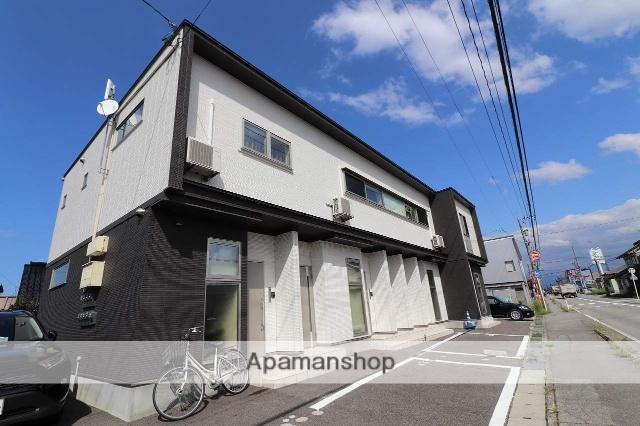 富山県富山市、朝菜町駅徒歩11分の新築 2階建の賃貸アパート