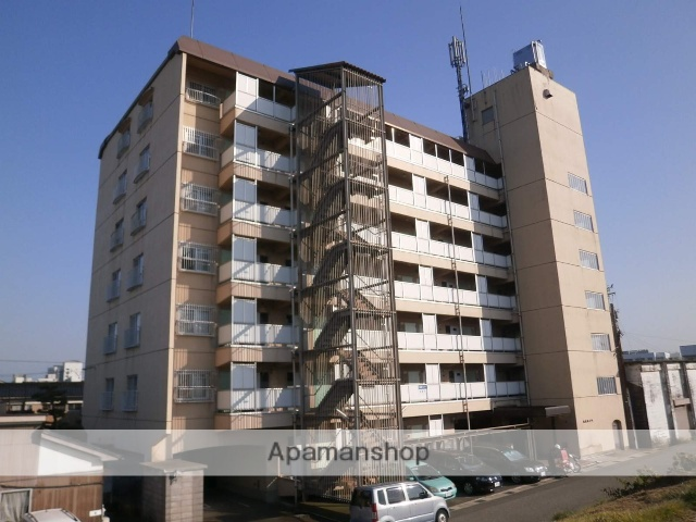 富山県富山市、安野屋駅徒歩12分の築38年 7階建の賃貸マンション