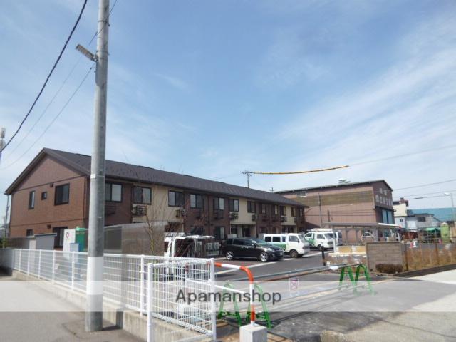 富山県富山市、越中中島駅徒歩14分の新築 2階建の賃貸アパート