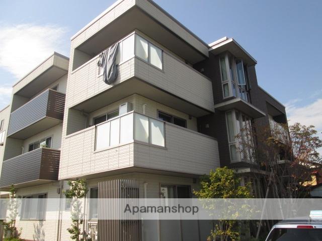 富山県富山市、南富山駅徒歩9分の新築 3階建の賃貸マンション