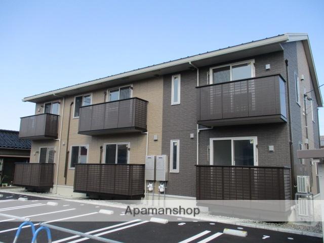 富山県富山市、下奥井駅徒歩17分の新築 2階建の賃貸アパート