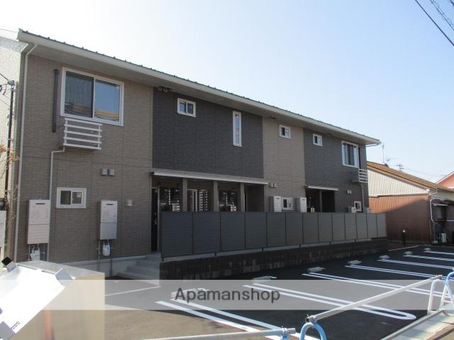 富山県富山市、下奥井駅徒歩18分の新築 2階建の賃貸アパート