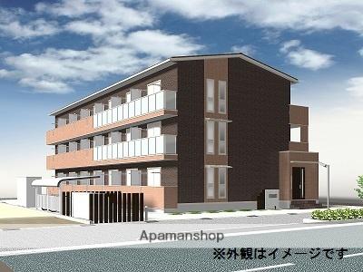 富山県富山市、安野屋駅徒歩14分の新築 3階建の賃貸アパート