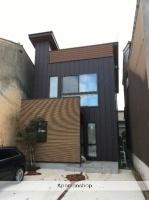 富山県富山市、諏訪川原駅徒歩15分の新築 2階建の賃貸テラスハウス