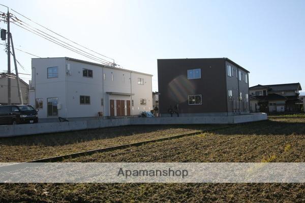 富山県富山市、朝菜町駅徒歩20分の新築 2階建の賃貸アパート