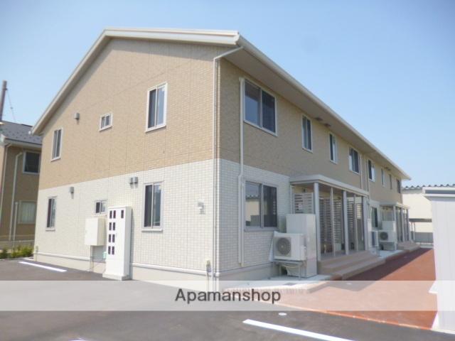 富山県富山市、東新庄駅徒歩20分の新築 2階建の賃貸アパート