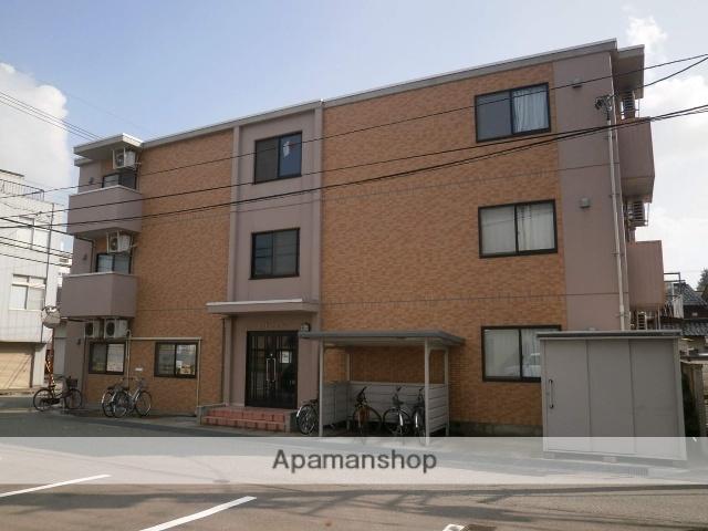 富山県富山市、大学前駅徒歩3分の築8年 3階建の賃貸マンション