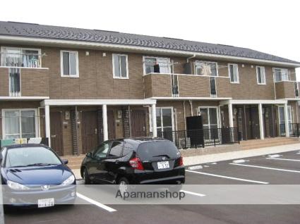 富山県富山市、朝菜町駅徒歩9分の築8年 2階建の賃貸アパート