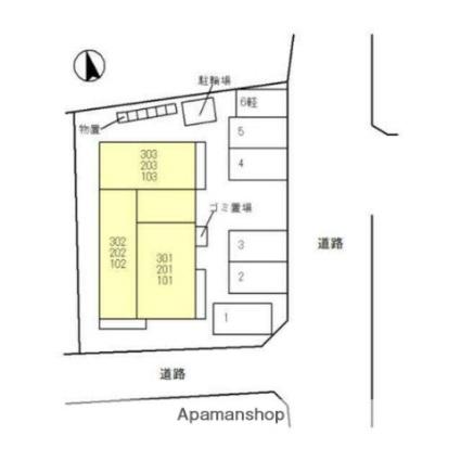 富山県富山市布瀬町2丁目[1R/27.07m2]の外観