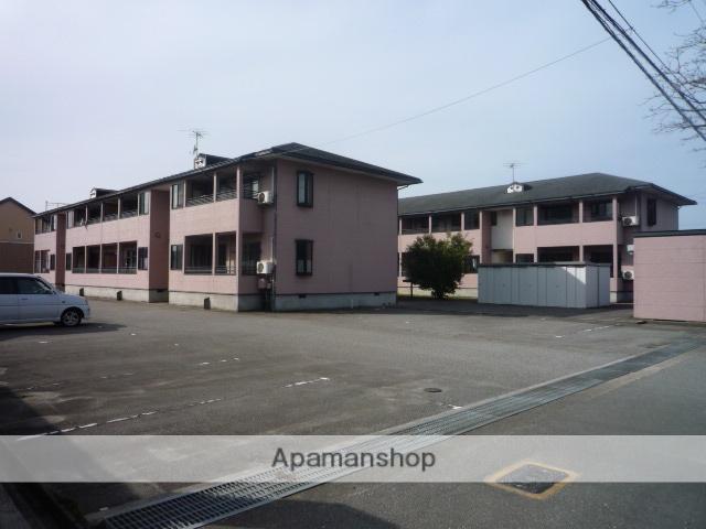富山県富山市の築19年 2階建の賃貸アパート