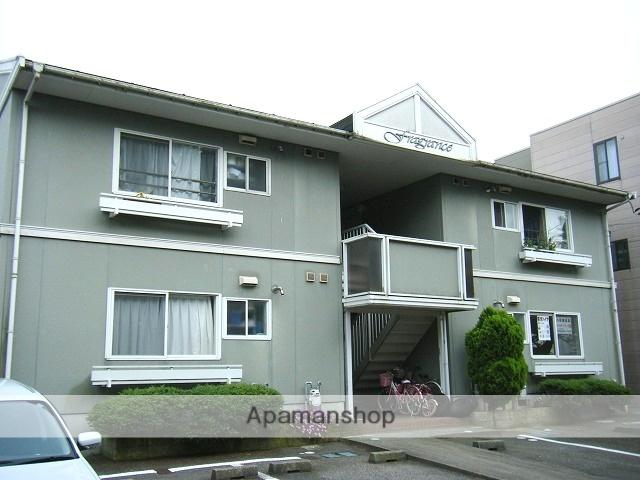 富山県富山市、呉羽駅徒歩3分の築27年 2階建の賃貸アパート