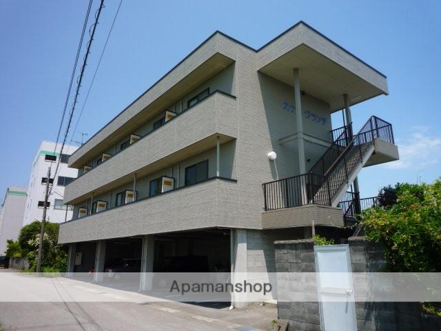富山県富山市、富山駅徒歩19分の築17年 3階建の賃貸アパート