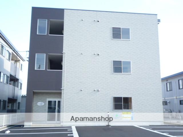 富山県富山市、東新庄駅徒歩22分の築7年 3階建の賃貸アパート