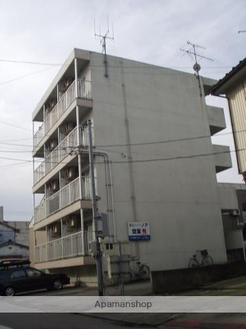 富山県富山市、丸の内駅徒歩10分の築26年 4階建の賃貸マンション