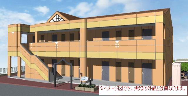 富山県富山市、西富山駅徒歩19分の築5年 2階建の賃貸アパート