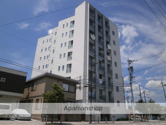 富山県富山市、富山駅徒歩7分の築6年 8階建の賃貸マンション