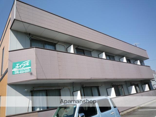 富山県富山市、奥田中学校前駅徒歩5分の築21年 2階建の賃貸マンション
