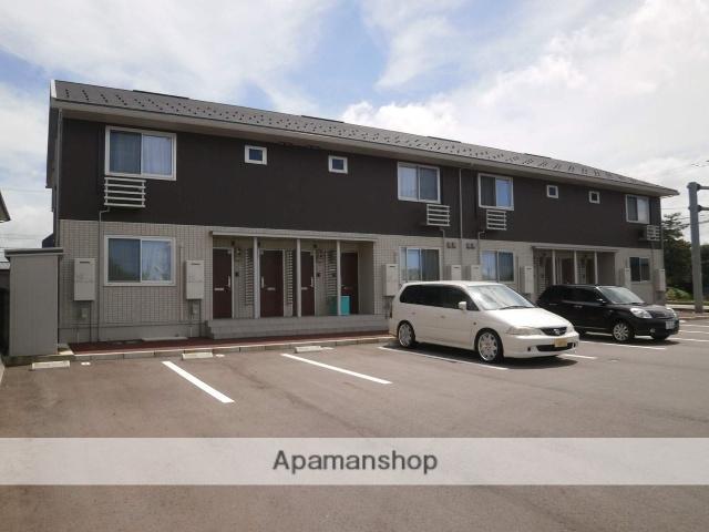 富山県中新川郡立山町の築5年 2階建の賃貸アパート