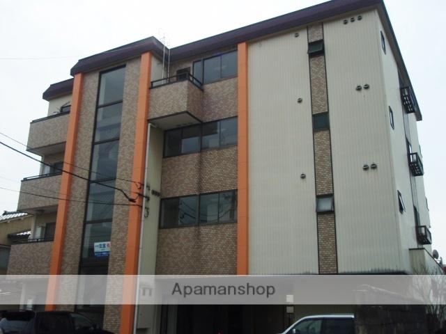 富山県富山市、稲荷町駅徒歩10分の築28年 4階建の賃貸マンション