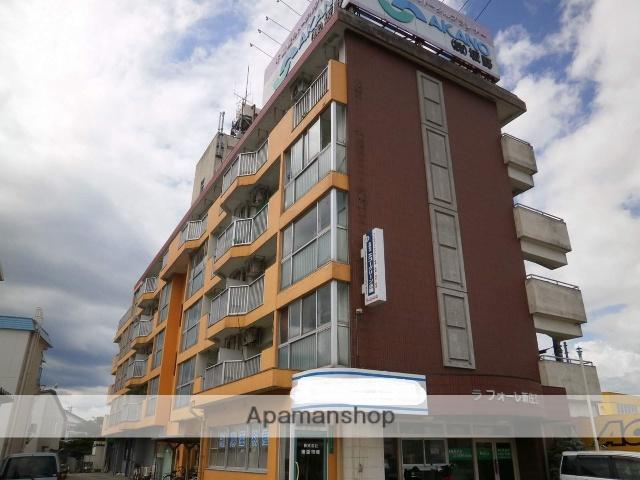 富山県富山市、東新庄駅徒歩10分の築35年 5階建の賃貸マンション