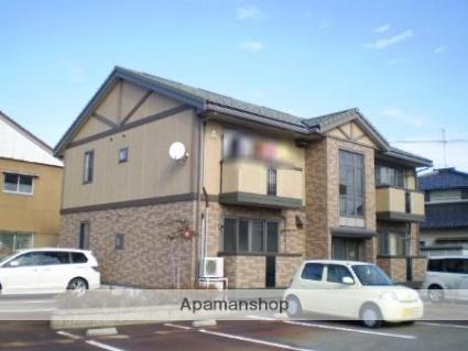 富山県滑川市、西滑川駅徒歩9分の築14年 2階建の賃貸アパート