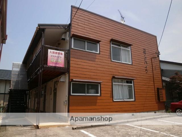 富山県富山市、西富山駅徒歩19分の築38年 2階建の賃貸アパート