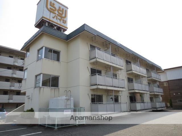 富山県富山市、西富山駅徒歩8分の築32年 3階建の賃貸マンション