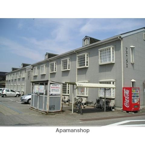 富山県富山市、小杉駅徒歩56分の築21年 2階建の賃貸アパート