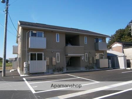 富山県富山市、西富山駅徒歩20分の築4年 2階建の賃貸アパート