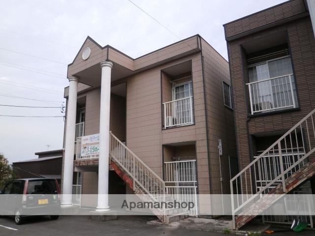 富山県富山市、西富山駅徒歩7分の築15年 2階建の賃貸アパート