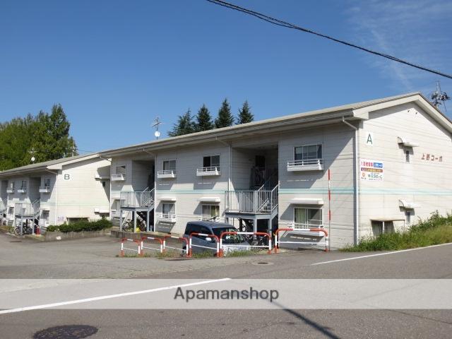 富山県富山市、越中八尾駅徒歩20分の築25年 2階建の賃貸アパート