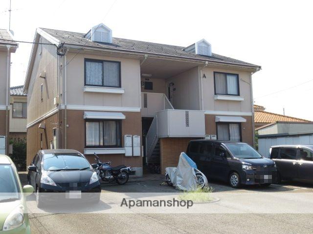 富山県富山市、南富山駅徒歩18分の築28年 2階建の賃貸アパート