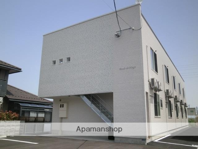 富山県富山市、稲荷町駅徒歩14分の築4年 2階建の賃貸アパート