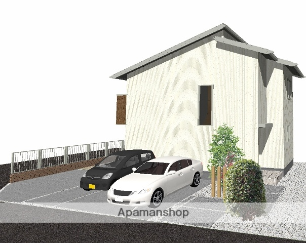 富山県富山市、富山駅徒歩10分の築3年 2階建の賃貸一戸建て