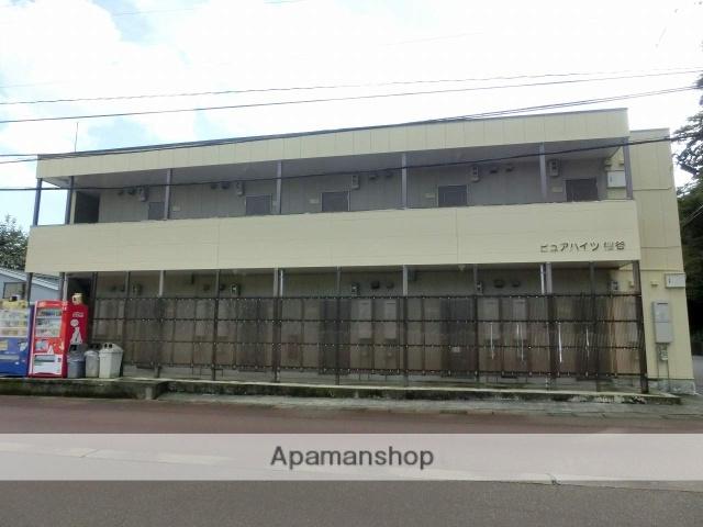 富山県富山市、西富山駅徒歩20分の築20年 2階建の賃貸アパート