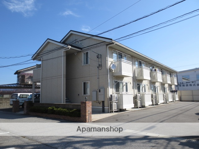 富山県富山市、下奥井駅徒歩6分の築10年 2階建の賃貸アパート