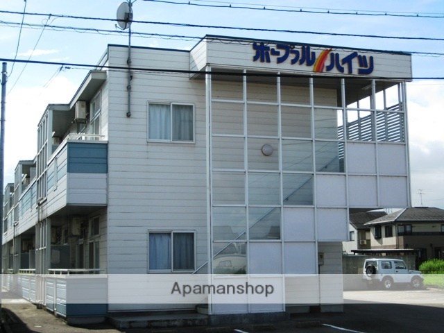 富山県富山市の築21年 2階建の賃貸アパート