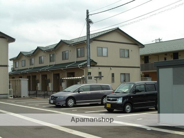 富山県富山市、速星駅徒歩19分の築10年 2階建の賃貸テラスハウス