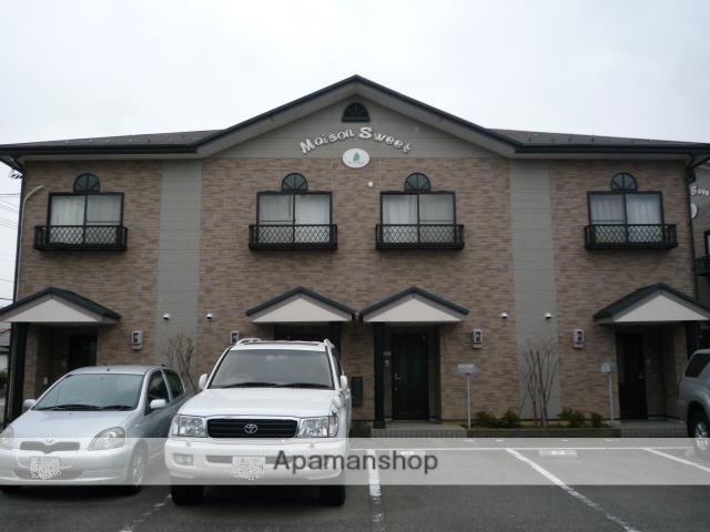 富山県富山市の築17年 2階建の賃貸テラスハウス