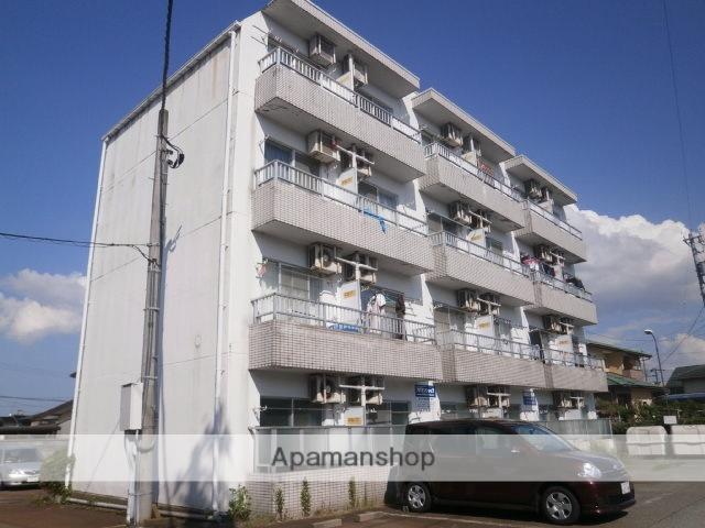 富山県富山市、西富山駅徒歩14分の築26年 4階建の賃貸マンション
