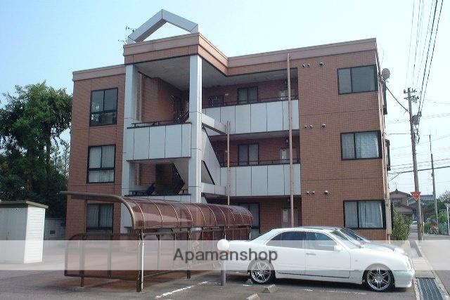 富山県富山市、粟島(大阪屋ショップ前)駅徒歩18分の築21年 3階建の賃貸マンション
