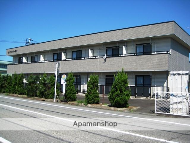 富山県富山市、速星駅徒歩6分の築20年 2階建の賃貸アパート