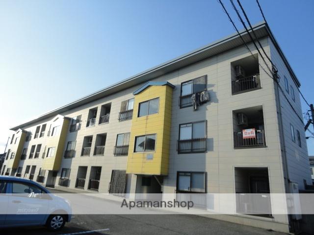 富山県富山市、速星駅徒歩10分の築21年 3階建の賃貸アパート