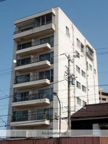 富山県富山市、小泉町駅徒歩5分の築30年 8階建の賃貸マンション