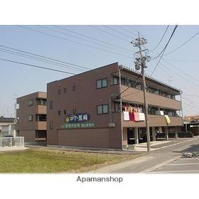 富山県富山市の築17年 3階建の賃貸アパート