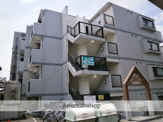 富山県富山市、稲荷町駅徒歩7分の築26年 4階建の賃貸マンション