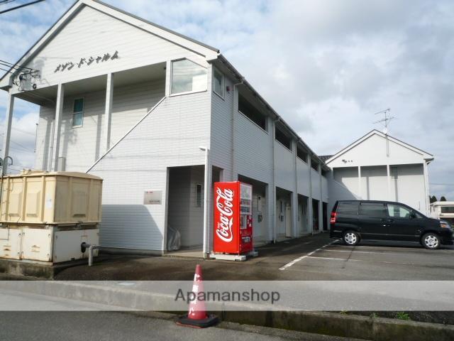 富山県富山市、朝菜町駅徒歩18分の築24年 2階建の賃貸アパート