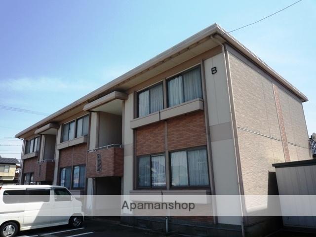 富山県富山市、越中荏原駅徒歩8分の築31年 2階建の賃貸アパート