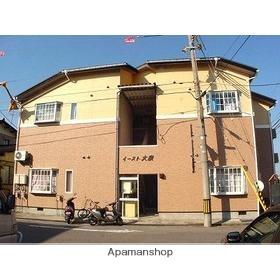 富山県富山市の築27年 2階建の賃貸アパート